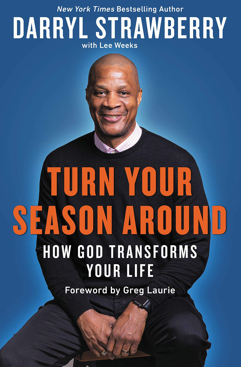 Turn Your Season Around book by Darryl Strawberry